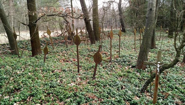 Військовий цвинтар Першої Світової війни в Барках
