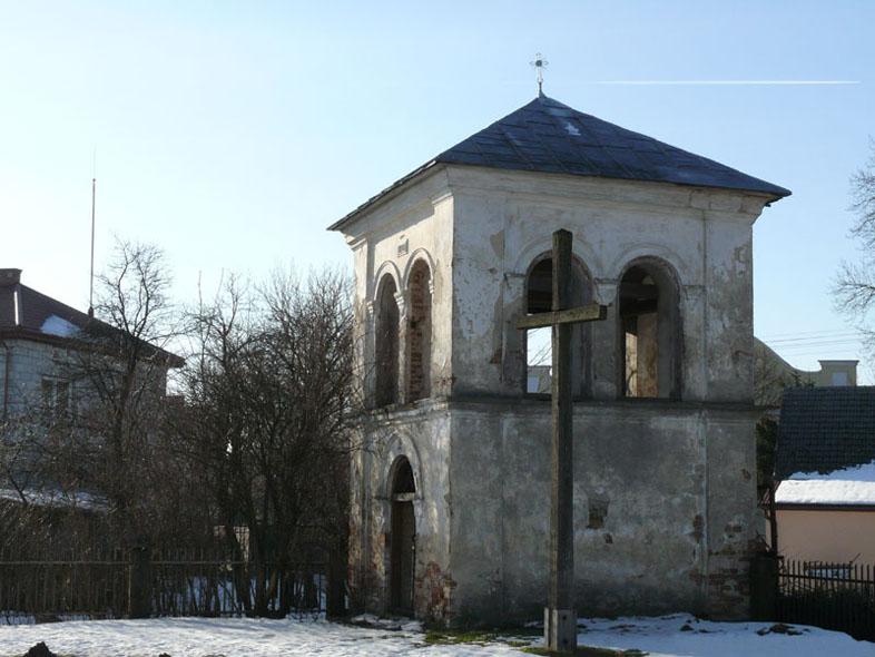 Нині недіючий костел св. Юзефа (раніше церква св. Михаїла)