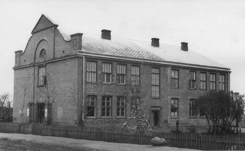 Найстаріша фотографія школи в Цицові